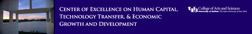 Center of Excellence on Human Capital, Technology Transfer, & Economic Growth and Development